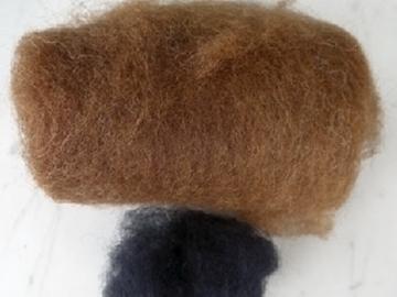 Bild von braune Wolle für Schaf Gr.2