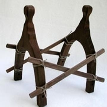 Bild von Kamelsattel aus Holz gross