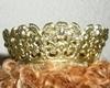 Bild von Klassische schwere Krone goldfarben