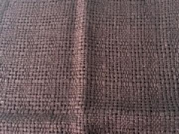 Bild von Baumwolle dunkelbraun locker 40x50cm