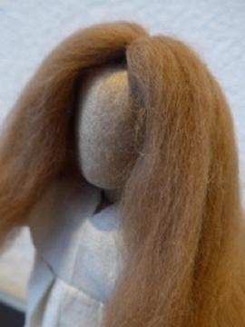 Bild von Perücke Alpaka hellbraun/blond