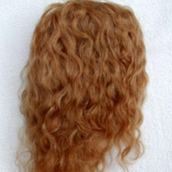 Bild von Perücke blond Dauerlocken