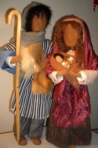 Bild von E Joseph, Maria mit Kind
