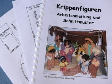 Bild von Anleitungsbuch und Schnittmuster