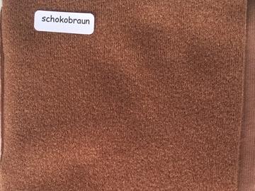 Bild von Duvetine schokobraun 10 x 120cm