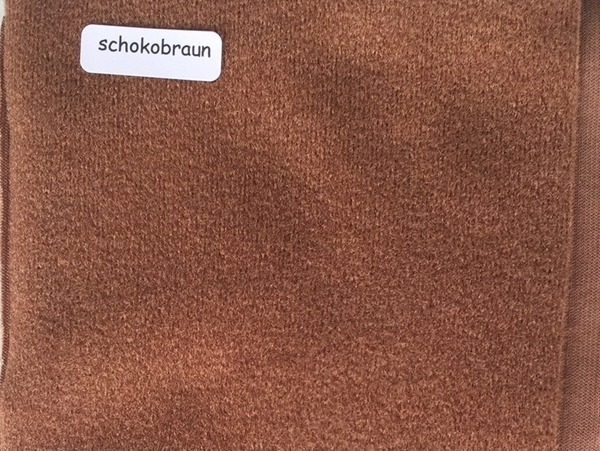 Bild von Duvetine schokobraun 20 x 60cm