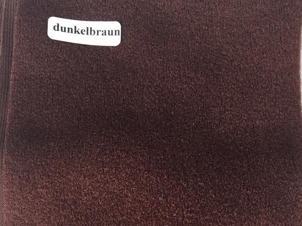 Bild von Duvetine dunkelbraun 20 x 60cm
