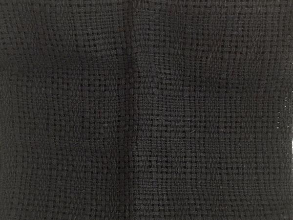 Bild von Baumwolle schwarz locker 40x50cm
