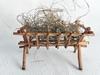 Bild von Krippe aus Weiden ca. 12cm