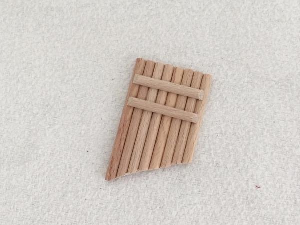 Bild von Panflöte aus Holz