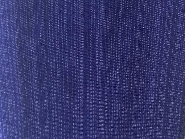 Bild von Baumwollstoff blau gestreift  90 cm breit, 30cm hoch