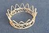 Bild von Edle filigrane Krone silberfarben 45mm Ø