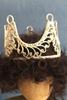 Bild von Filigrane hohe Krone silberfarben 55mm Ø