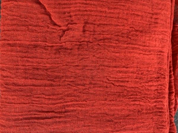 Bild von Gazestoff Rot