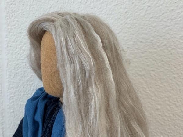 Bild von Perücke meliert beige-blond