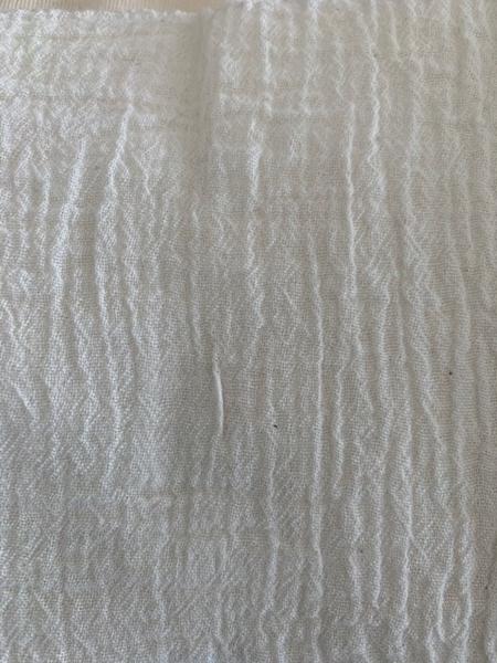 Bild von Baumwollstoff locker gewaschen